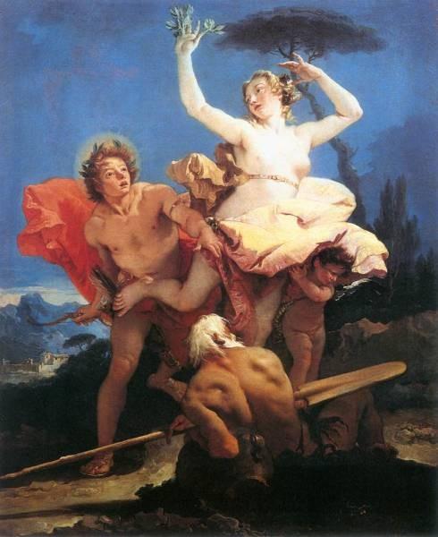 Tiepolo Apollo and Daphne